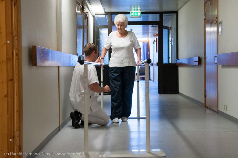 Rehabilitering, Narvik sykehjem. oktober 2012