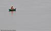 Ensom fisker langt til havs. I Skjomen.