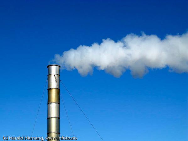 Røyk fra pipe