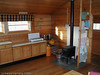 Narvik og Omegn Turistforening har et solid tilbud av hytter og løyper på Skjomfjellet. Interiør fra storhytte i Cainhavagge.