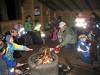 Narvik og Omegn Turistforening arrangerer hver Haloween et alternativt tilbud uten kjøpepress og godtemas. Her fra gapahuk ved Jaklamyra, der ungene bl.a. får gå på nattorientering for å finne reflekser ved hjelp av hodelykt