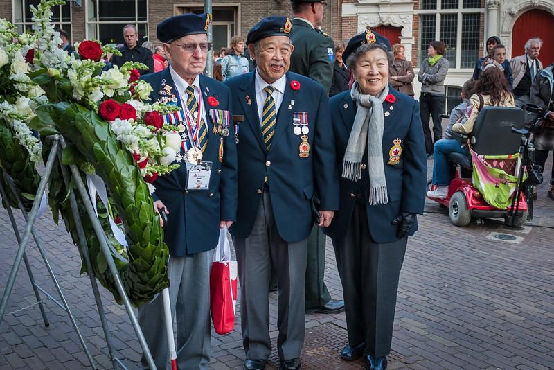 Oorlogsverteranen in Deventer