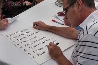 Johan Kruit maakt een lijst met artiesten