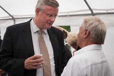 Burgemeester Andries Heidema