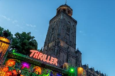 Thriller op het Grote Kerkhof