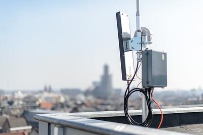 installatie WA solar hotspot