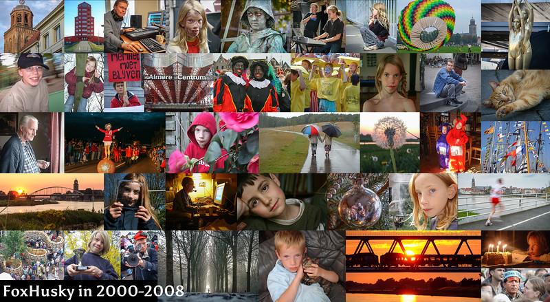 Na 13 jaar analoge fotografie in 2000 begonnen met een digitale camera. Dit is een kleine selectie van de eerste acht jaar met digitale fotografie. Hoogtepunten: in 2001 en 2002 winnaar van een lokale fotowedstrijd in Almere, bezoek aan Sail Amsterdam, Deventer op Stelten, Boekenmarkt, werk bij Rallyworld, het vliegerfestival aan de IJssel, het Living Statue Festival in Arnhem, fotoshoots met vrienden, en nog veel meer...