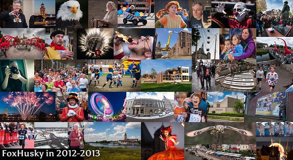 Hoogtepunten in 2012 en 2013: mijn rugbyfoto wordt sportfoto van het jaar 2012, sloop Deltaschool en meer in de Rivierenwijk en sloop stadskantoor, 7e en 8e IJsselloop, mooi vuurwerk tijdens de zomerkermis, talloze giraffen tijdens Deventer op Stelten, 25e editie Boekenmarkt en nog veel meer.