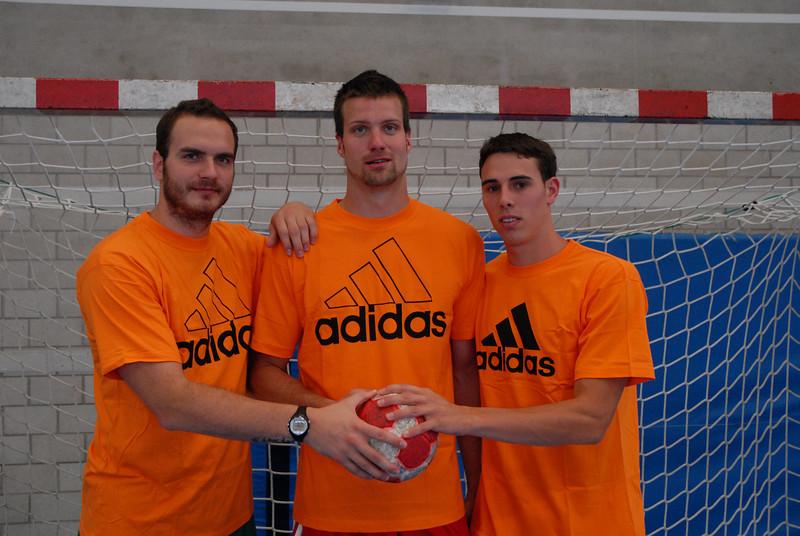 Rares Jurca (li), Vaclaw Vramy (Mitte), Florian Goepfert (re)