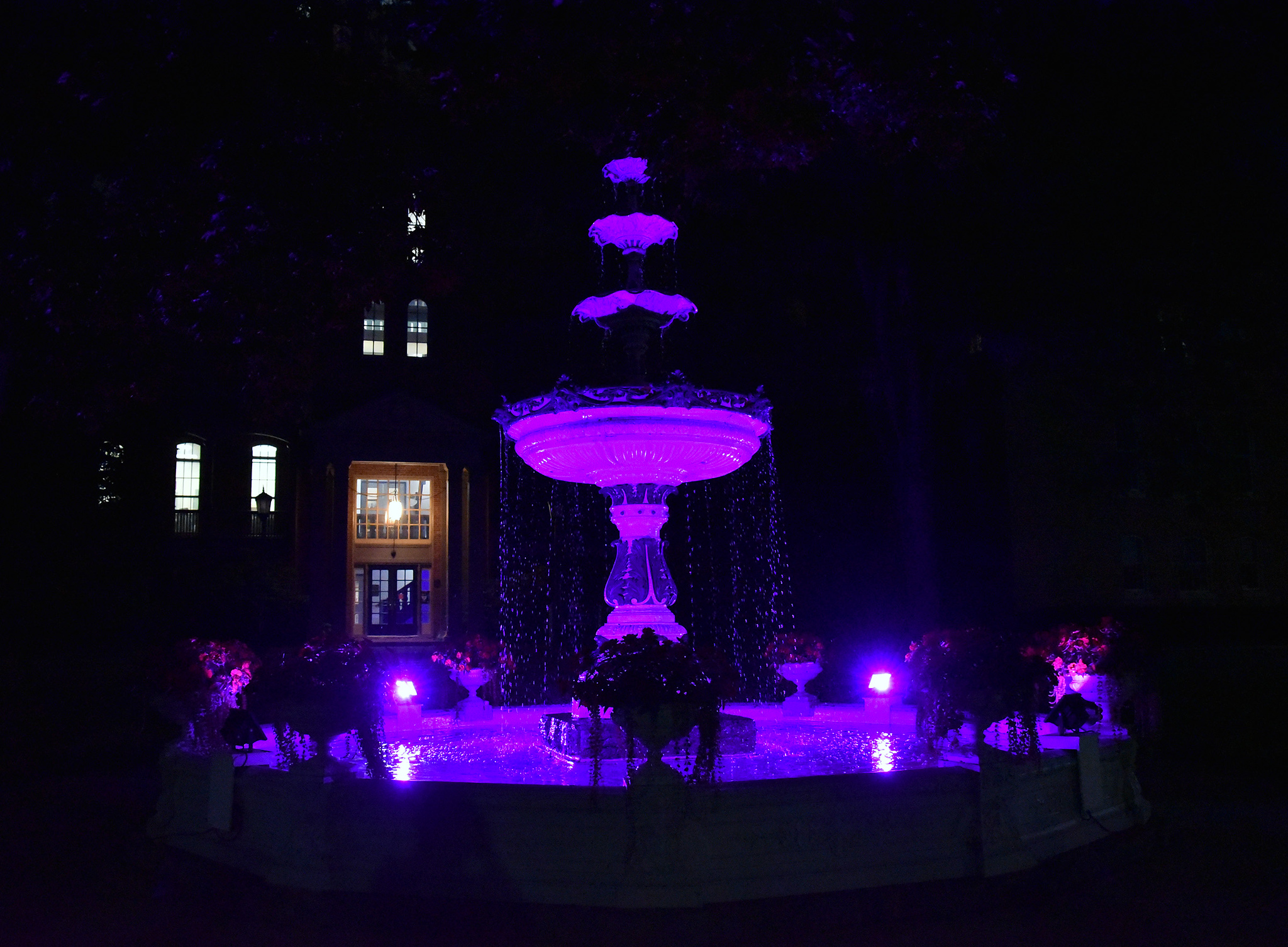 Recovery Fountain Lighting