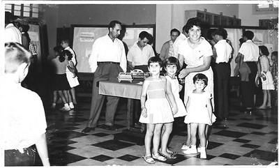 13/1/1962? Custódio Neto, Moreira Rato, Rosarinho Neto , Ana Maria Josefa, (?)   Esperança Josefa e enfº Leopoldo
