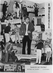 """1970 Dundo - programa da """"Mordaca"""""""