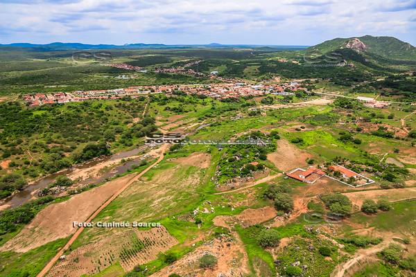 Cidade à margem do Rio Potengi, RN