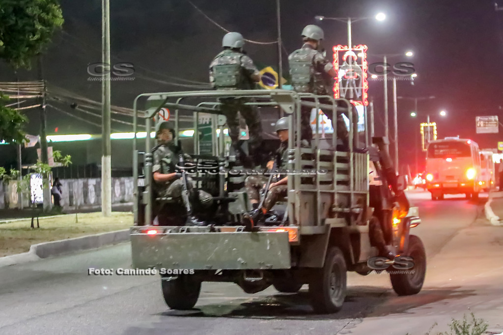 Exército nas ruas de Natal