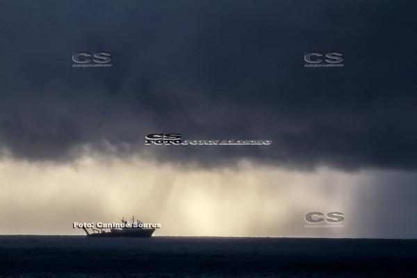 Chuva no mar