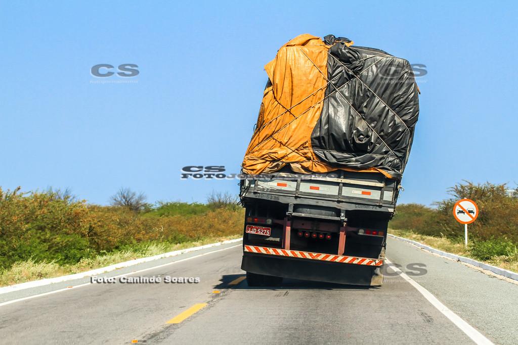 Caminhão com carga