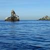 Eagle Rock, flat seas