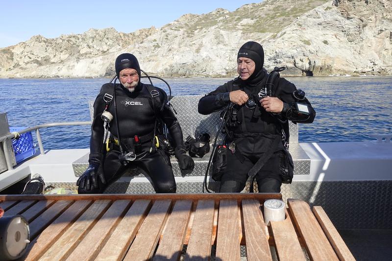Captain Jim Simmerman and Jeff Reeb