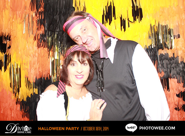 Divine Home Care Halloween Party
