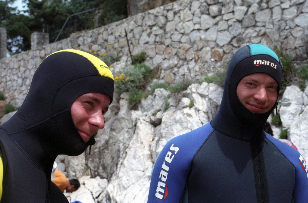 Wetstuit Divers