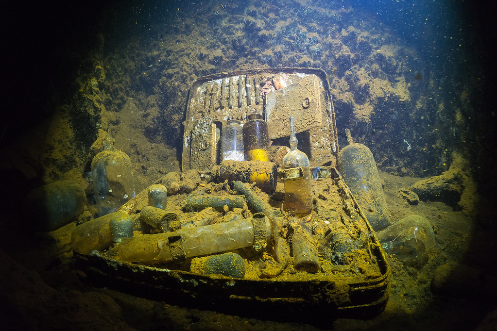 Medical Kit on the Heian Maru.