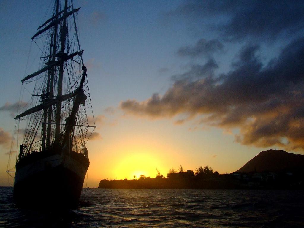Sunset St Kitts