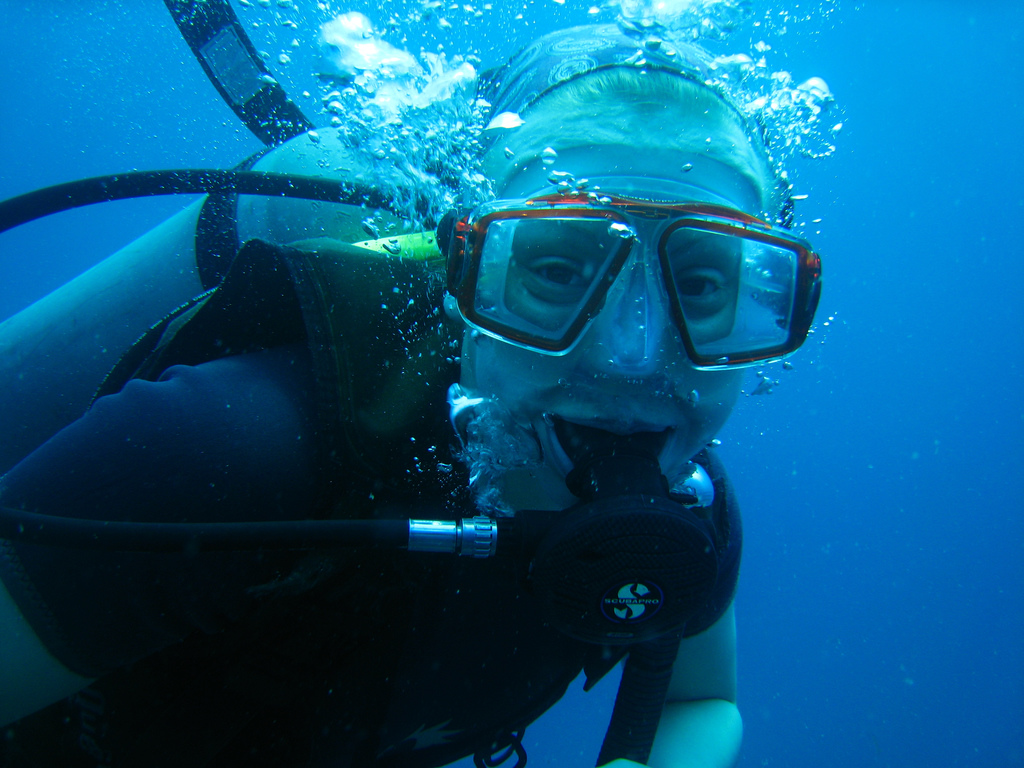 Be A Happy Holiday Diver