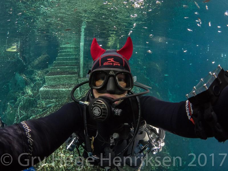 Devil diver