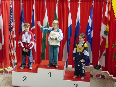 CAMO Boys C 1M - 1st - Denis Meleshenkov - Team Russia; 2nd - Harrison Jones - Woodlands; 3rd - Cam McLean - Pan Am