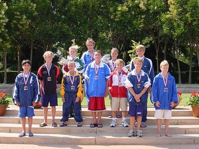 Jr. Nationals 3 Meter Medalists - Harrison 7th