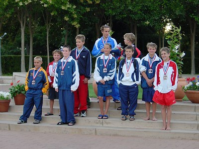 Jr. Nationals - 1 Meter Medalists