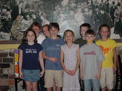 Woodlands Divers - Kaitlyn, Cara, Kathryn, Harrison, Shelby, Hayden, Connor & Kristin