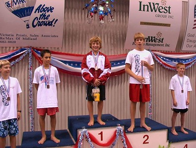 13&U 3M - Harrison 1st....Hayden just out of the picture in 6th