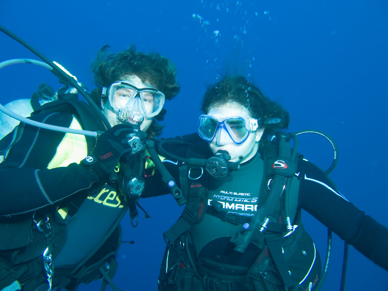 Micheal and Timo Read Sea