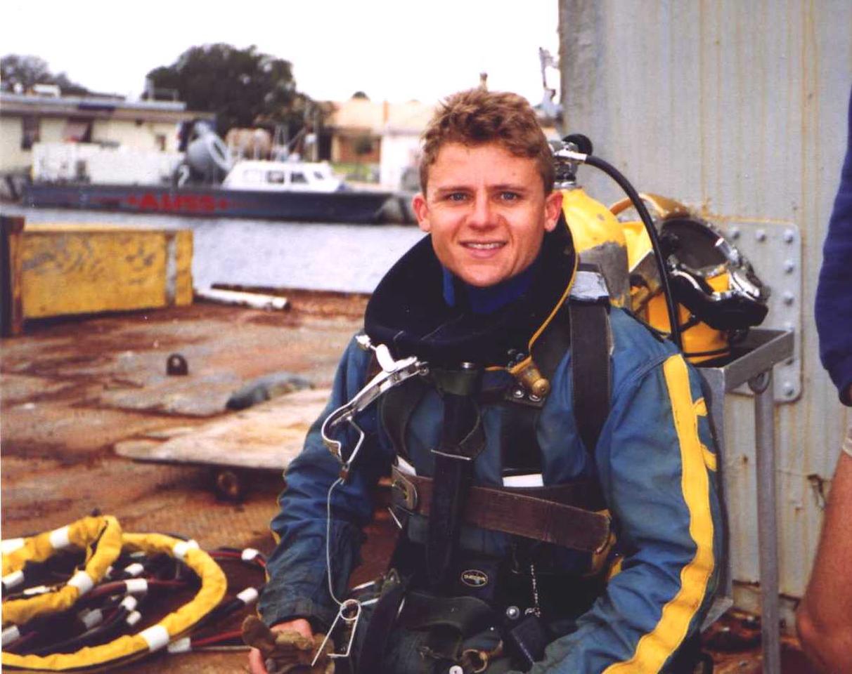At US Navy dive school in 1998