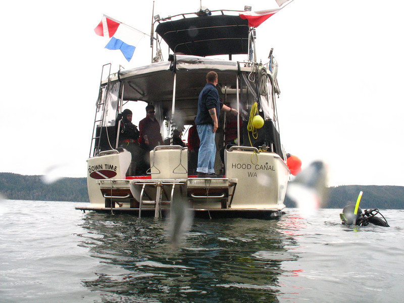 March 2008 - Pacific Adventure Charters boat