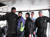 October 2007 - HCDOP Survey crew - Ron and April Theod, Jeanne Luce, (me acting as boat crew for the day), and Craig Miller.