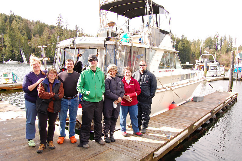 March 2008 - Janna, Barb Roy, David Jennings, Nolan Grose, Lynne Flaherty, Valerie Lyttle, Doug Marcoux