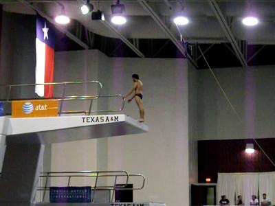 prelims dive 6 - back double twister...little short