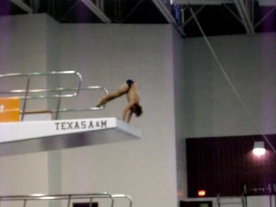finals dive 5 - armstand twister (nice job)