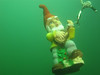 Guitar boy rocks out underwater