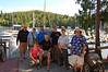 A very fun time! Dan Clements, me, Krista, Mark, Don, Carl, Cindy and Claude