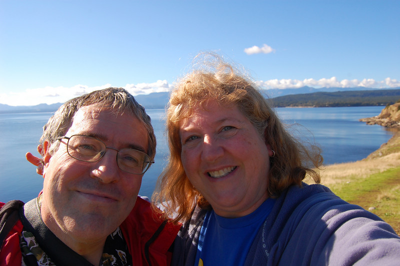 Claude and me at Helliwell