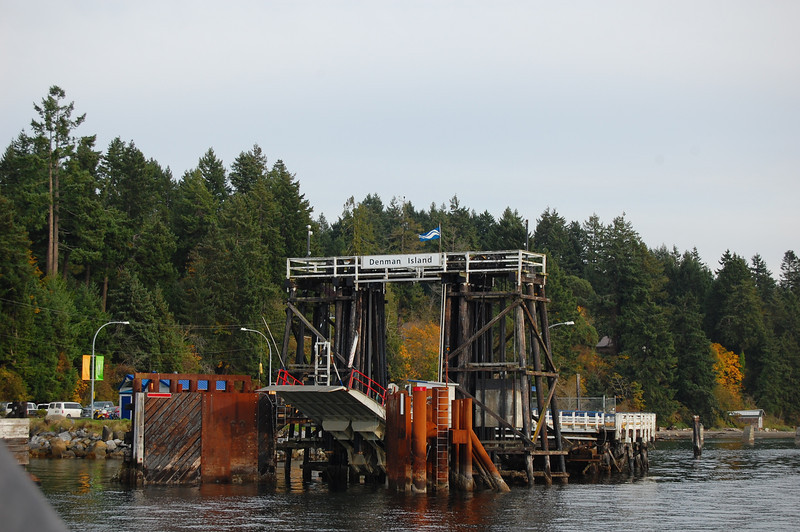 Getting to Hornby Island is a two-ferry affair. First you go to Denman Island, and then drive across the island to another ferry landing that goes to Hornby island.