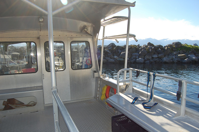Hornby Island Dive boat