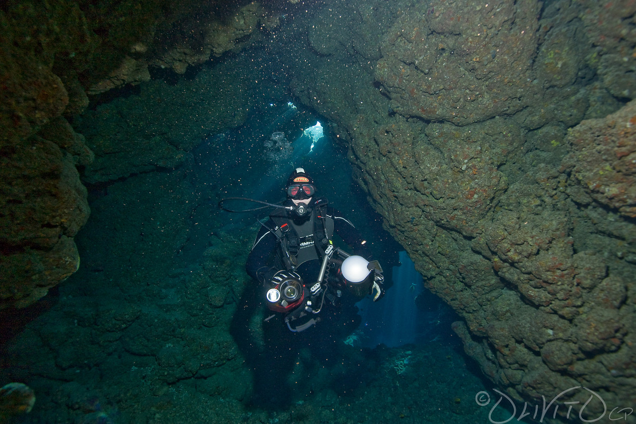 Cave in the Saint Jones Reefs complex labyrinth really nice dive location
