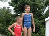 2001 - JJ & Harrison decide maybe they can get Gold in Women's Synchro