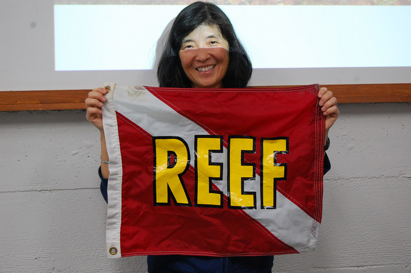 Now the REEF flag is right side up, Naomi!