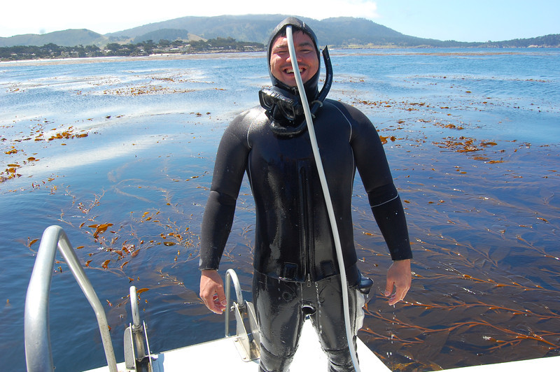 Alex Matsumoto and his thermal recovery unit