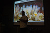 Dr. Steve Lonhart teaching invertebrate ID in the Monterey Bay Aquarium.